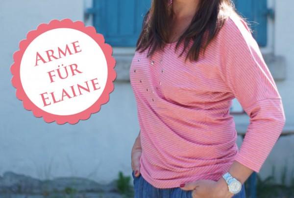 Elaine mit Armen