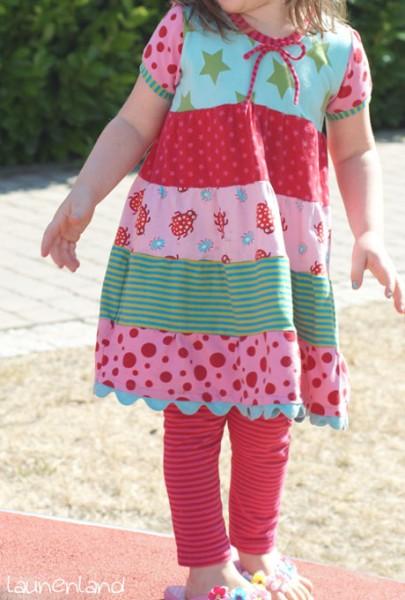 Lillesol Stufenkleid vorn