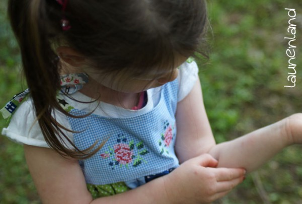Lillesol Trägerkleid Stickdatei