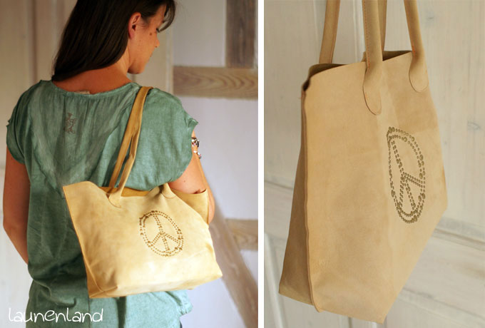 Lillesol Basic Bag Leder Details 1