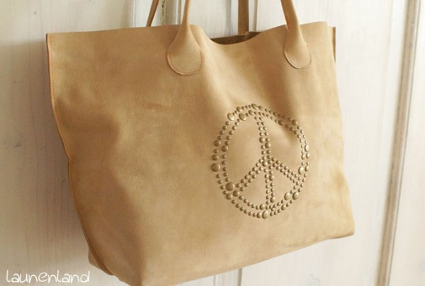 Lillesol Basic Bag Leder seitlich