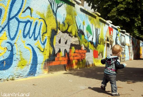 Rockstarjacke Graffiti