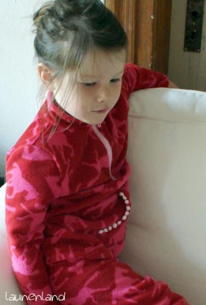 Lillesol Jogginganzug FleecepulliSeite
