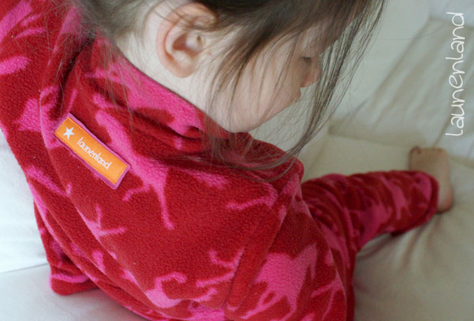 Lillesol Jogginganzug Fleecepulli hinte