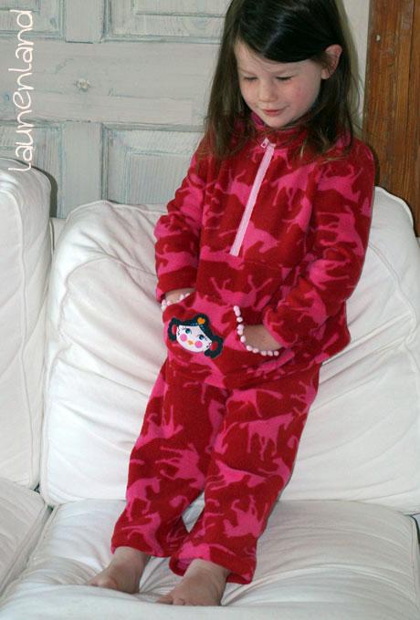 Lillesol Jogginganzug Fleecepulli vorn