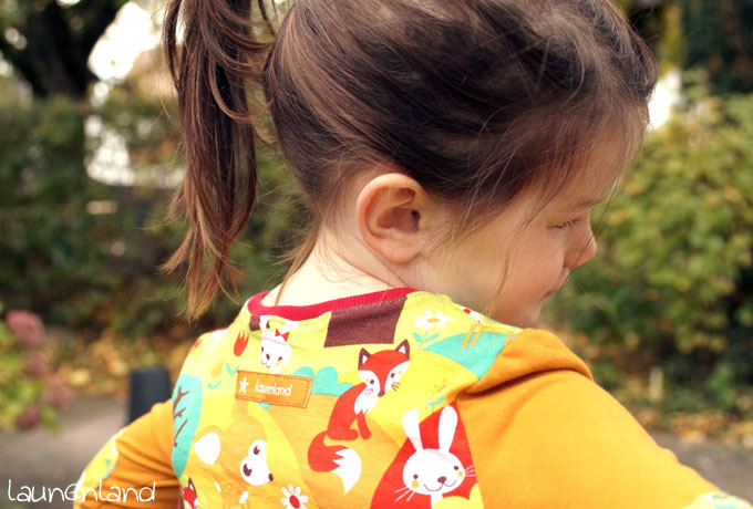 Lillesol Herbstkleid Ruecken