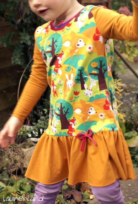 Lillesol Herbstkleid vorn