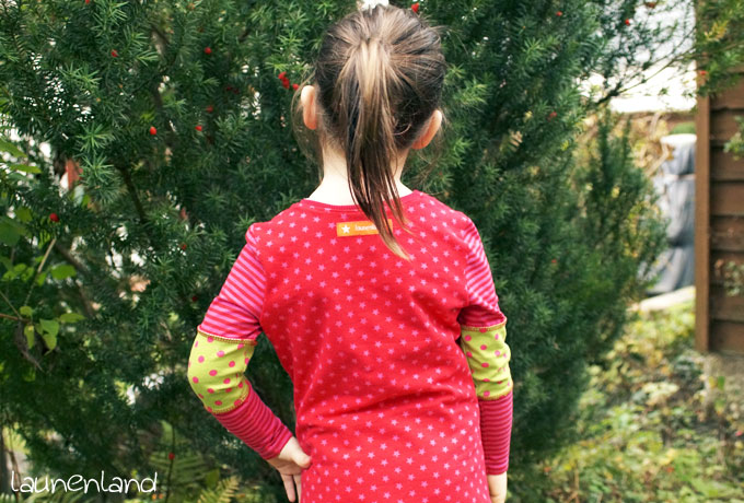 Lillesol Herbstkleid hinten