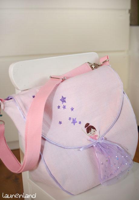 Lillesol Frühling Prinzessinnen Tasche innen