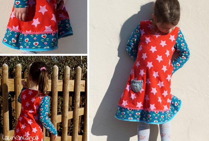 Jerseykleid Lillesol Detail