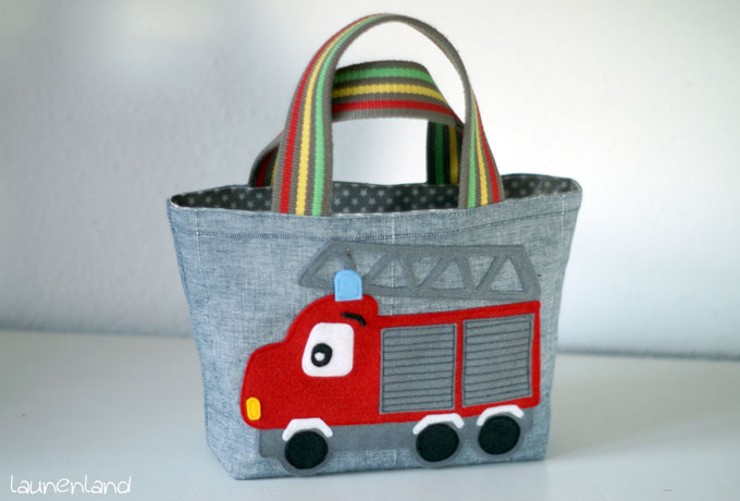 Lillesol Basic Bag Feuerwehrauto