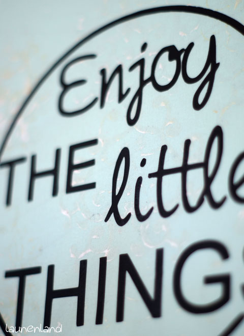 EnjoyTheLittleThings Detail