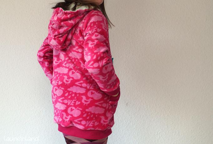 Lillesol Kapuzenjacke hinten