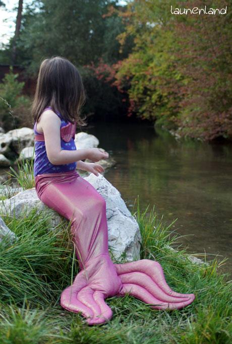 Meerjungfrauenflosse Seite
