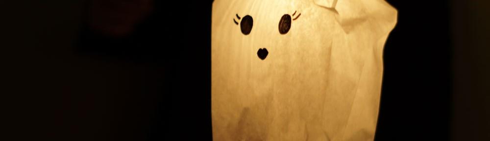 DIY Gespenst Laterne